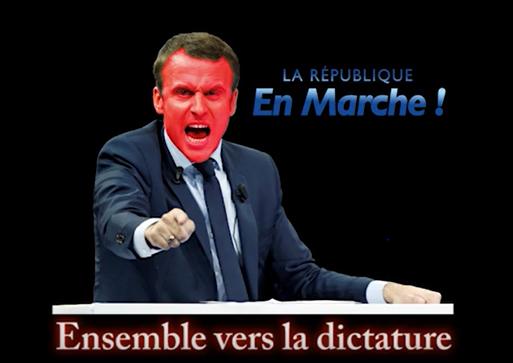 Emmanuel Macron Dictature
