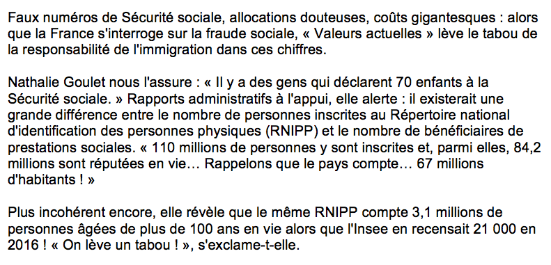 Fraude sociale immigration escroquerie