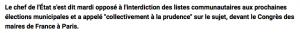 Parti Politique Union des Démocrates Musulmans Français – UDMF