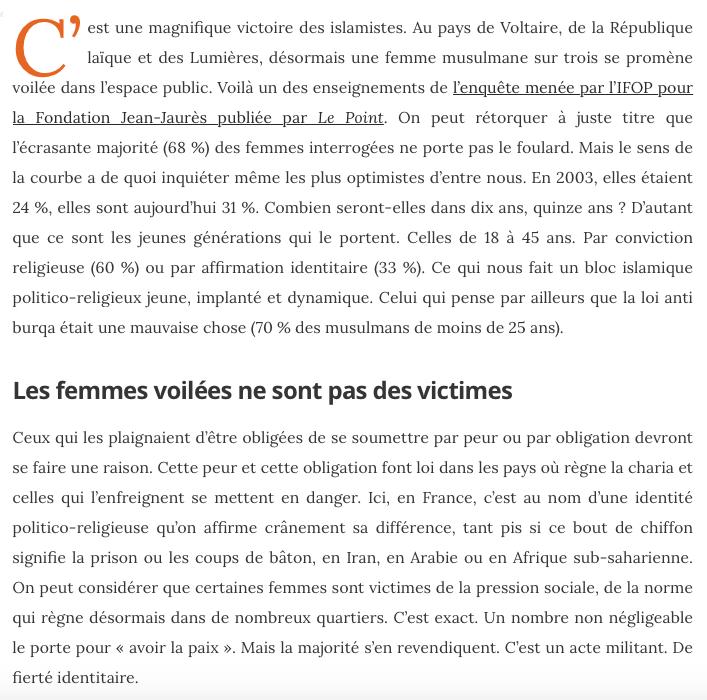 Politico Religieux Islam Politique Macron