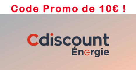 Code Promo Cdiscount Energie
