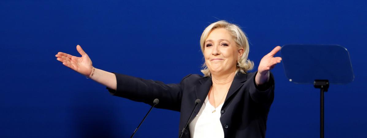 Migrant qui vote Marine Le Pen