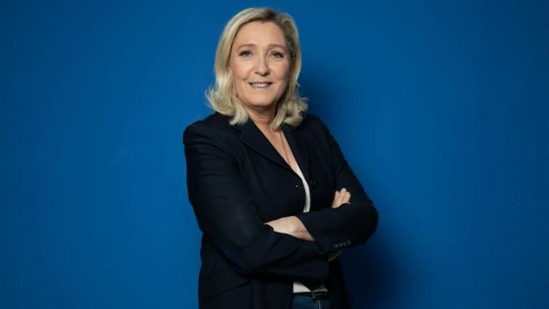 Migrant qui vote Marine Le Pen