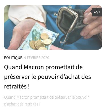 Emmanuel Macron promesse menteur