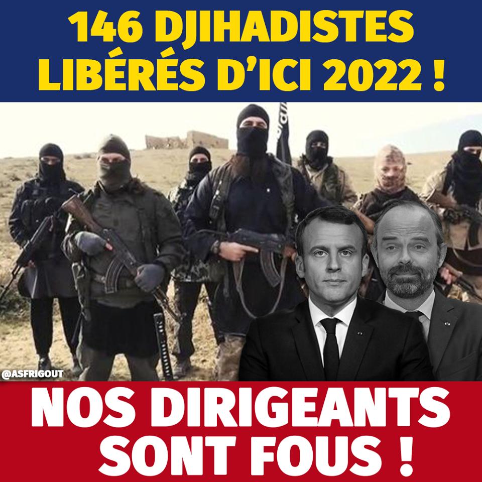 Pétition : Non à la libération des djihadistes en France !