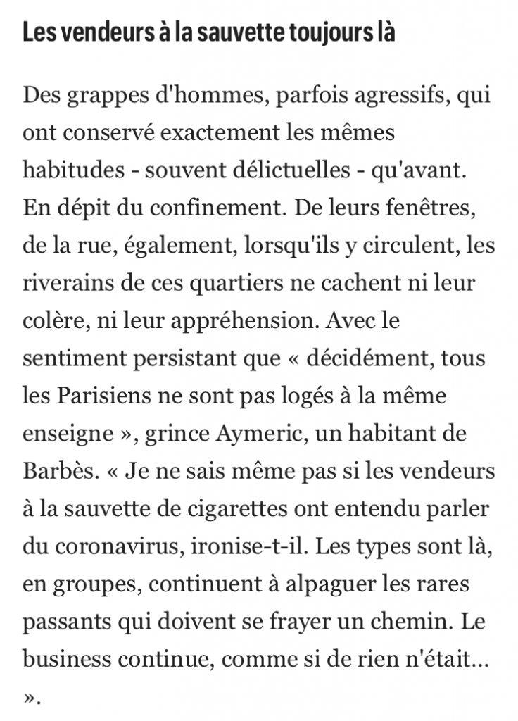 COVID-19 : Pas de confinement dans le nord de Paris et dans les banlieues parisiennes !