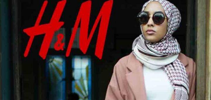 (VIDÉO) - ISLAMISATION : H&M et la chanteuse Rihanna font la promotion du port du voile islamique dans une publicité !