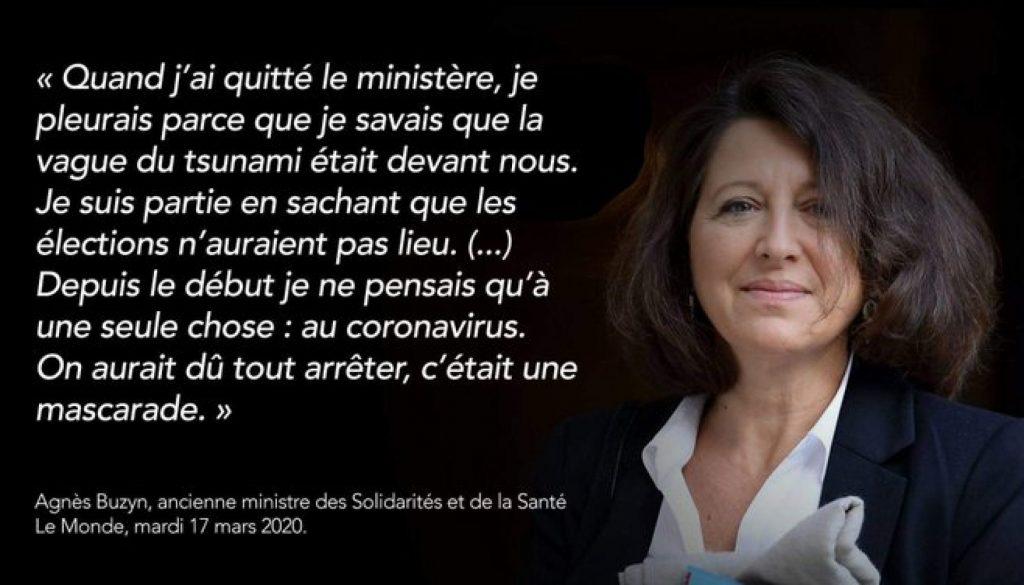 (VIDÉO) – COVID-19 : Quand Agnès Buzyn (LREM) déclarait avoir des dizaines de millions de masques en stock en cas d'épidémie !