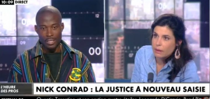 (VIDÉO) – Le rappeur Nick Conrad se prend une grosse raclée par Charlotte d'Ornellas en plein direct à la télévision !