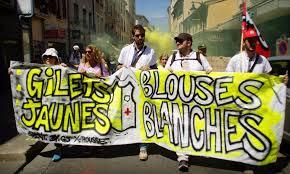 Dès la fin du confinement, le Gouvernement Macron craint un mouvement social d'ampleur des Gilets Jaunes et des Blouses Blanches !