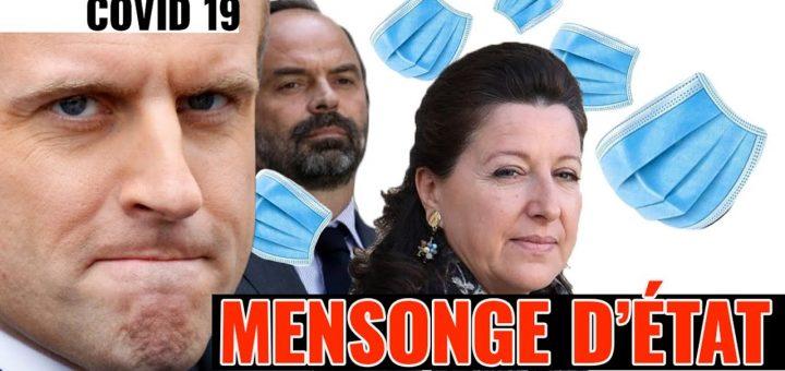 (VIDÉO) – COVID-19 : Le Gouvernement Macron vous ment sur le Coronavirus !