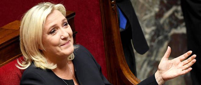 COVID-19 : Marine Le Pen achète 10 000 masques chirurgicaux pour les offrir aux Ehpad et aux infirmiers libéraux