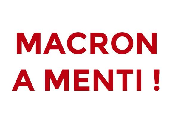 COVID-19 – Macron a menti au sujet des masques de protection, la preuve en images !