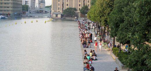 Paris : Dépouillée de son téléphone et poussée dans l'eau du canal par deux migrants Algériens !