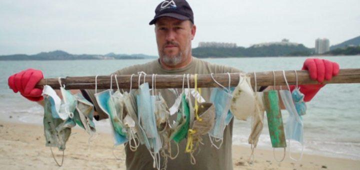 Pollution : Les masques et les gants jetés sur la voie publique se retrouvent dans la mer !
