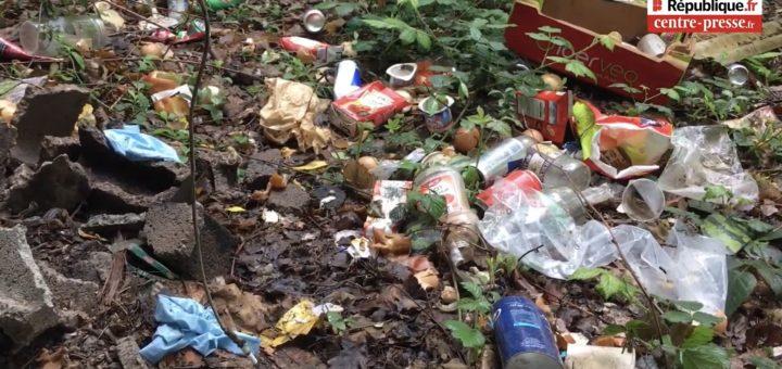 France : Nos forêts polluées par des tas de déchets laissés par les migrants !
