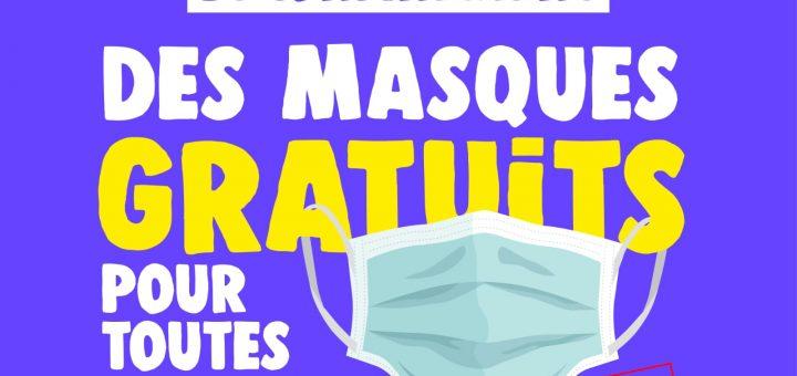 Des masques de protection gratuits pour tous !