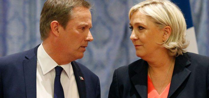 COVID-19 : Nicolas Dupont-Aignan (DLF) et Marine Le Pen (RN) se rallie contre le Gouvernement Macron !