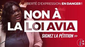 Pétition : Non à la loi Avia qui détruit la liberté d'expression sur Internet !