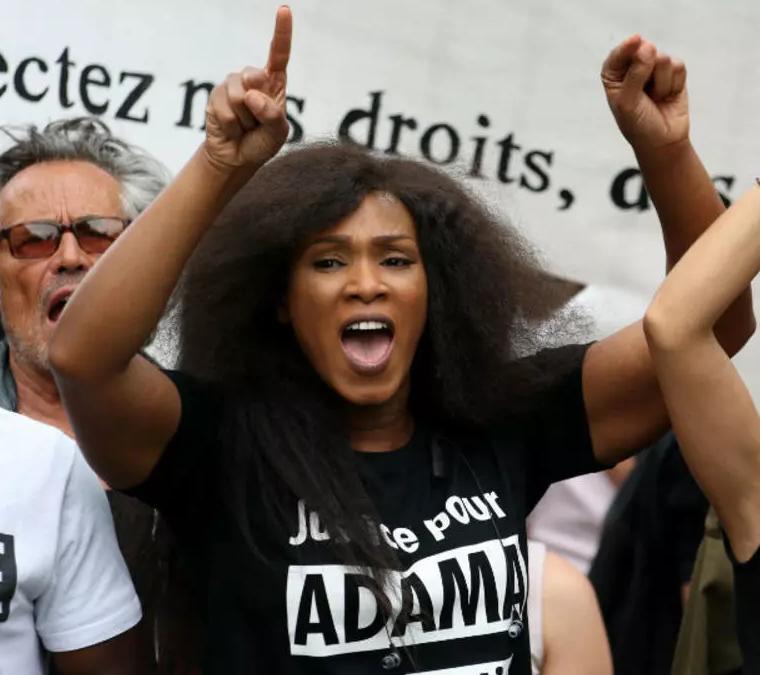 Assa Traoré veut renverser le Gouvernement Français et rentrer de force dans l'Elysée !