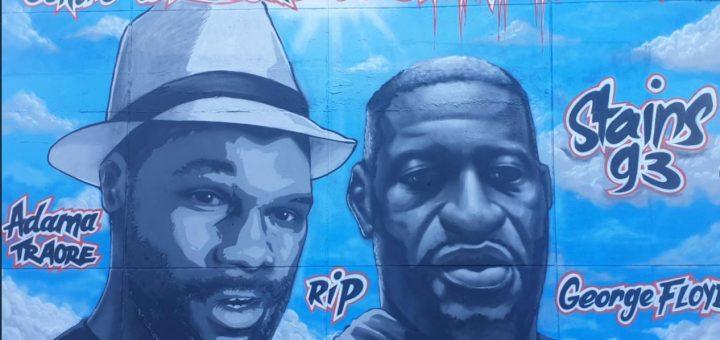 Pétition : Pour la suppression de la fresque en hommage au délinquant Adama Traoré !