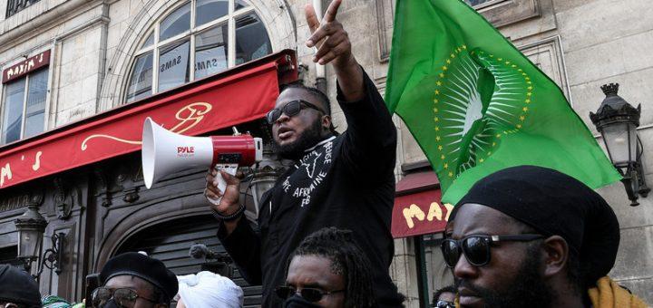 La France insultée par des racistes de l'organisation de la Ligue de Défense Noire Africaine !