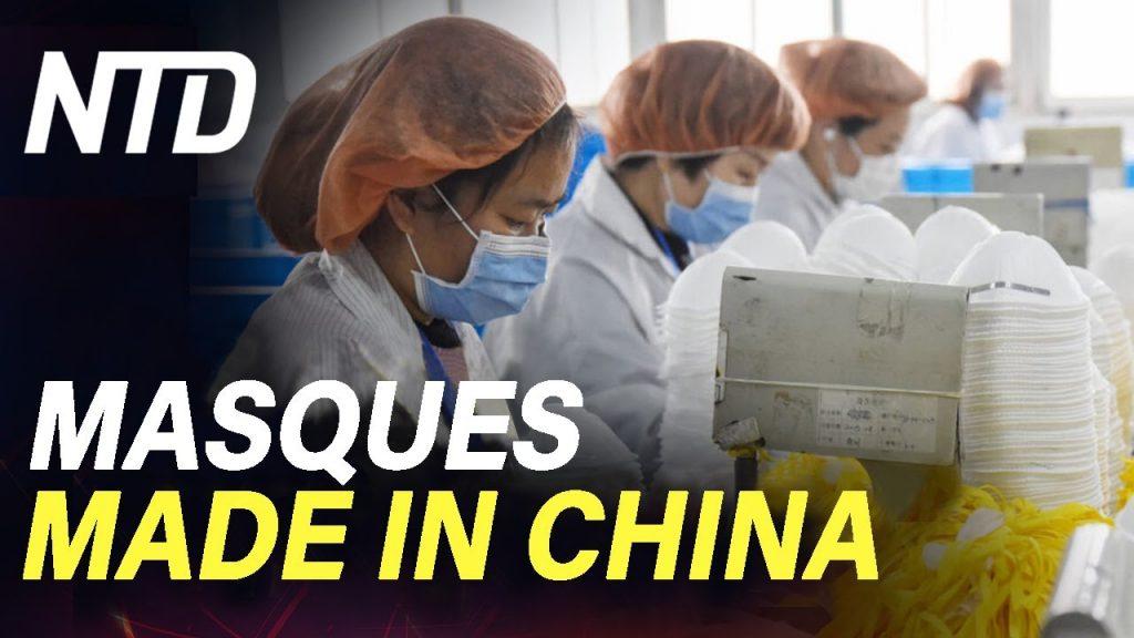 L'Etat Français achète des masques en Chine au lieu de les acheter aux entreprises Françaises, Pas de « Made In France » avec Macron !