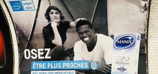 Publicité : Il y a toujours un noir ou un arabe charmant avec une blonde !