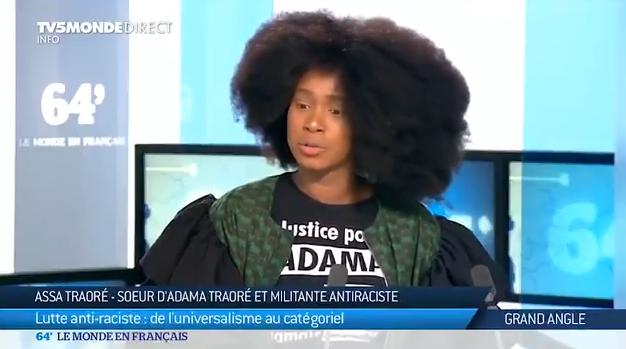 Flagrant délit de mensonge : La vidéo que Assa Traoré voudrait supprimer !