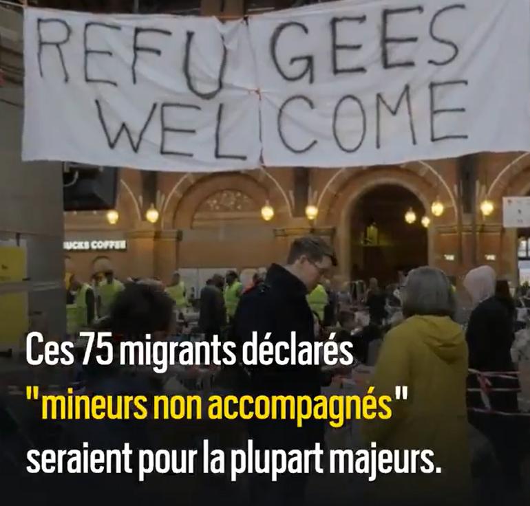 Paris : L'association pro-migrants « Médecins sans frontières » arnaque l'Etat Français avec des faux migrants mineurs !