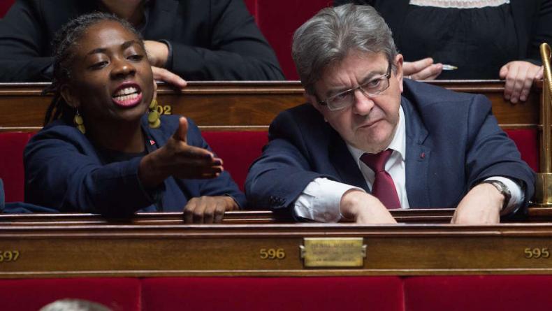 Mélenchon dénonce le racisme envers Danièle Obono alors qu'elle-même a tenu des propos racistes contre Jean Castex !