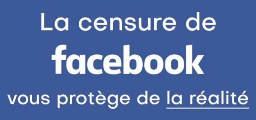 CENSURE FACEBOOK : Il est interdit de dire qu'il y a « 3 actes anti-chrétiens par jour en France » sur Facebook !