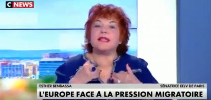 (VIDÉO) - Esther Benbassa (EELV) : « La France a besoin des migrants pour le renouvellement de la population »
