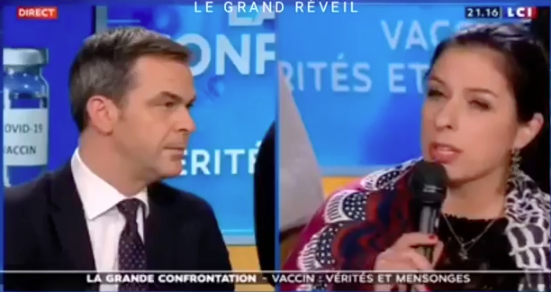 Olivier Véran & Anaïs Lefaucheux sur LCI